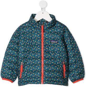 Patagonia Flower Print Down Jacket