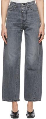Bureau De Stil Grey Wide Straight-Leg Jeans