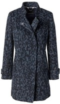 Banana Republic Wool-Blend Animal Topcoat