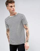 Brooklyn Supply Co. Brooklyn Supply Co Charcoal Breton Stripe T-Shirt