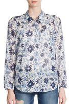 Joie Katrine Mamba Floral Print Shirt