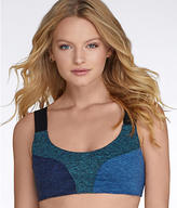 Free People Color Blocked Dylan Wire-Free Sports Bra