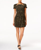 MICHAEL Michael Kors Cutout-Neck Dress, a Macy's Exclusive Style
