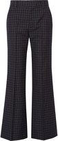 Marc Jacobs Checked wool wide-leg pants
