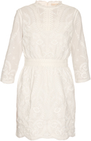 Vanessa Bruno Evangelista embroidered cotton dress