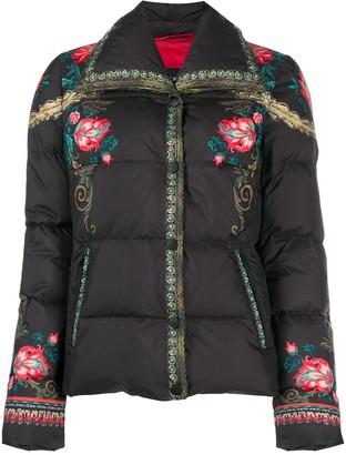 Etro Floral Padded Jacket
