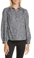 Rebecca Taylor Women's Adeline Long Sleeve Blouse