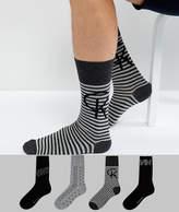 Calvin Klein Socks In 4 Pack Gift Set