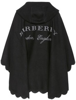 Burberry Carla wool and cashmere cape