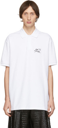 Raf Simons White Illusion Polo