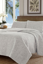 Tommy Bahama Gravel Gulch Full/Queen Quilt & Sham 3-Piece Set - Gray