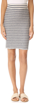 Three Dots Stripe Skirt