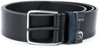 Diesel Logo Plaque Detail Belt