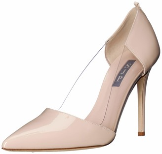 Sarah Jessica Parker Women's Femme Clear Pointed Toe Dress Pump