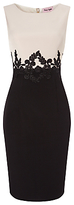Phase Eight Suzanna Dress, Black/Beige