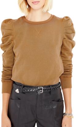 Janine Puff-Sleeve Sweatshirt