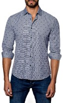 Jared Lang Men's Dot Sneaker Sport Shirt