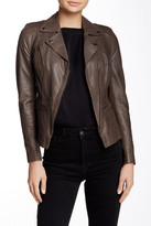Muu Baa Muubaa Kajana Genuine Leather Biker Jacket\n