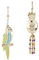 Rosantica Hawaii Pineapple Beaded Earrings