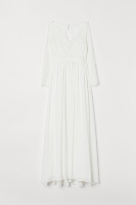 H&M Lace wedding dress