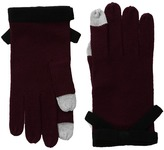 Kate Spade Contrast Bow Gloves