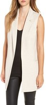 Leith Women's Stretch Ponte Long Vest