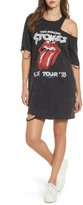 Mimichica Women's Mimi Chica Stones Distressed Band T-Shirt Dress