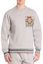 Les Benjamins Ilbey Long Sleeve Sweatshirt