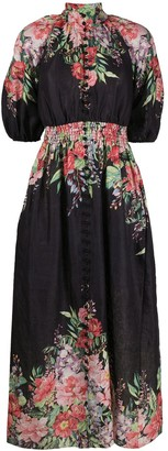 Zimmermann Floral-Print Dress