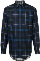 Alexander Wang long-sleeved check shirt