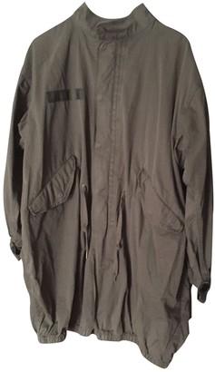 Zadig & Voltaire Khaki Cotton Coat for Women