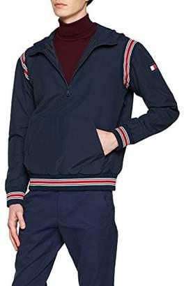 Tommy Hilfiger Men's Nylon Canvas Anorak Jacket,Large