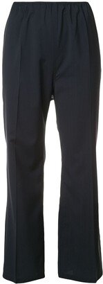 Sofie D'hoore creased cropped trousers