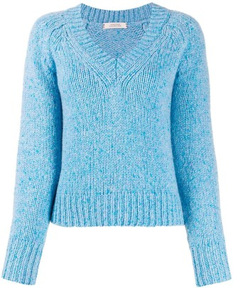 Dorothee Schumacher chunky knit V-neck jumper