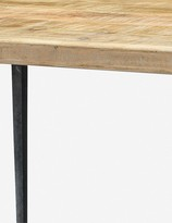 Lulu & Georgia Sandy Dining Table, Natural