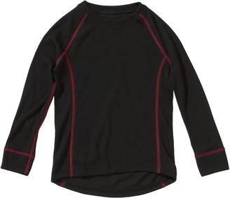 Schiesser Girl's Camisole Black - Schwarz (000-schwarz) 10 Years