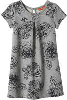 Joe Fresh Toddler Girls' Print Dress, Light Grey Mix (Size 4)