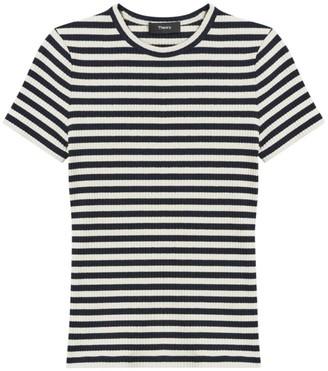Theory Tiny Striped T-Shirt