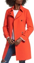 Topshop Women's Daisy Crepe Truster Trench Coat