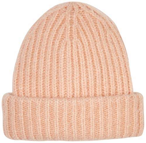 ca77c68f4 Women's Warm Peachy Knitted Rib Beanie Hat