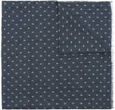 John Varvatos skull print scarf - men - Silk/Cotton - One Size