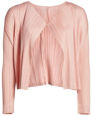Pleats Please Issey Miyake Monthly Colors June Jacket
