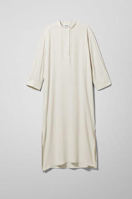 Weekday Mali Dress - Beige