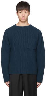 Études Blue Wool Bunker Sweater