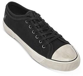 AllSaints Men's Rigg Low-Top Canvas Sneakers