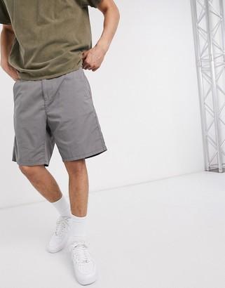 Esprit slim fit chino short in grey