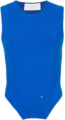 Esteban Cortazar Backless Cropped Tank