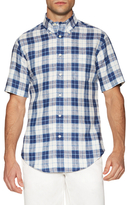 Brooks Brothers Checkered Linen Sportshirt