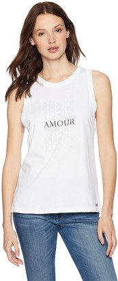 n:philanthropy Women's Crystal Amour Tank