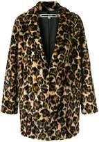 McQ leopard print coat
